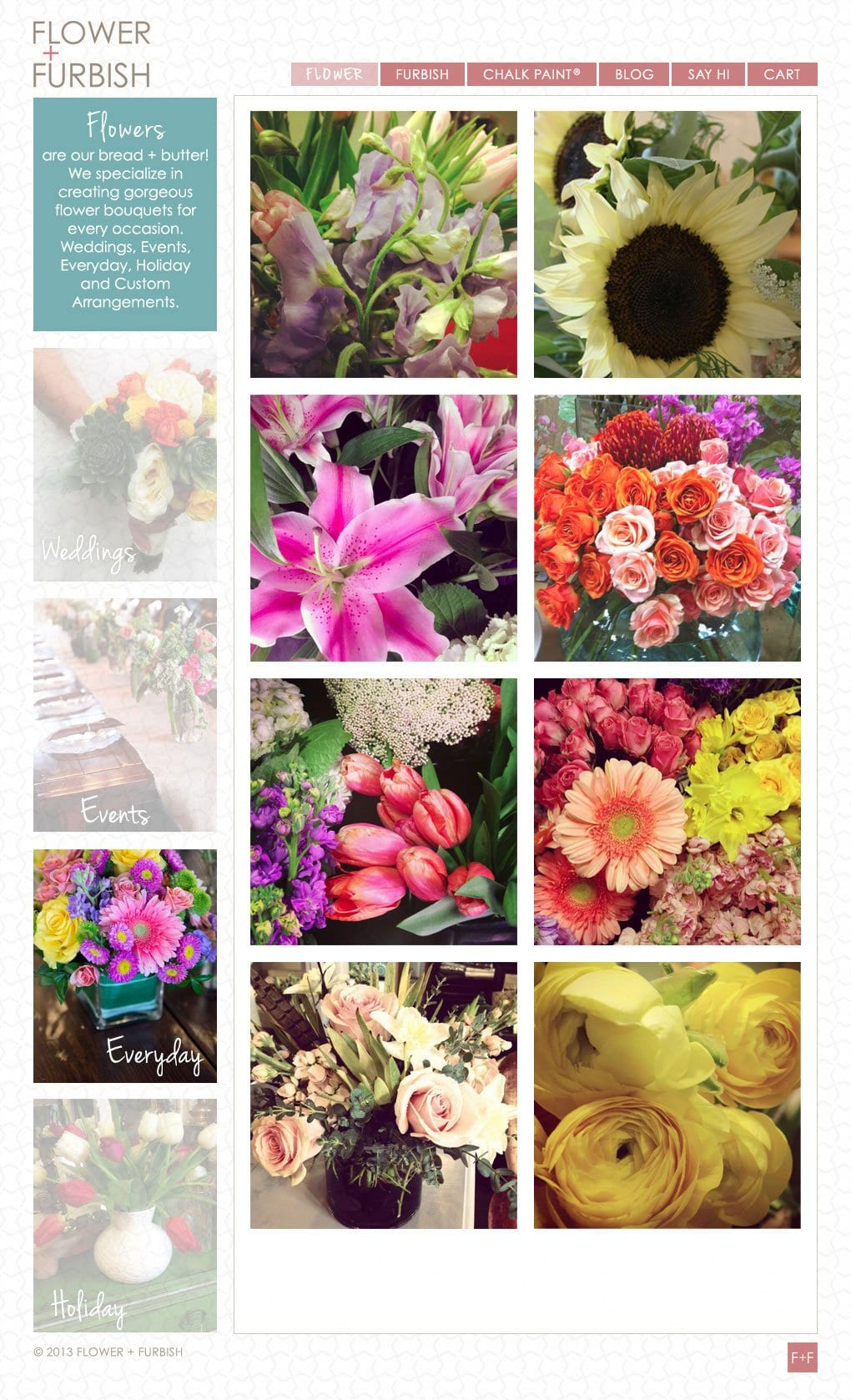 Flower + Furbish
