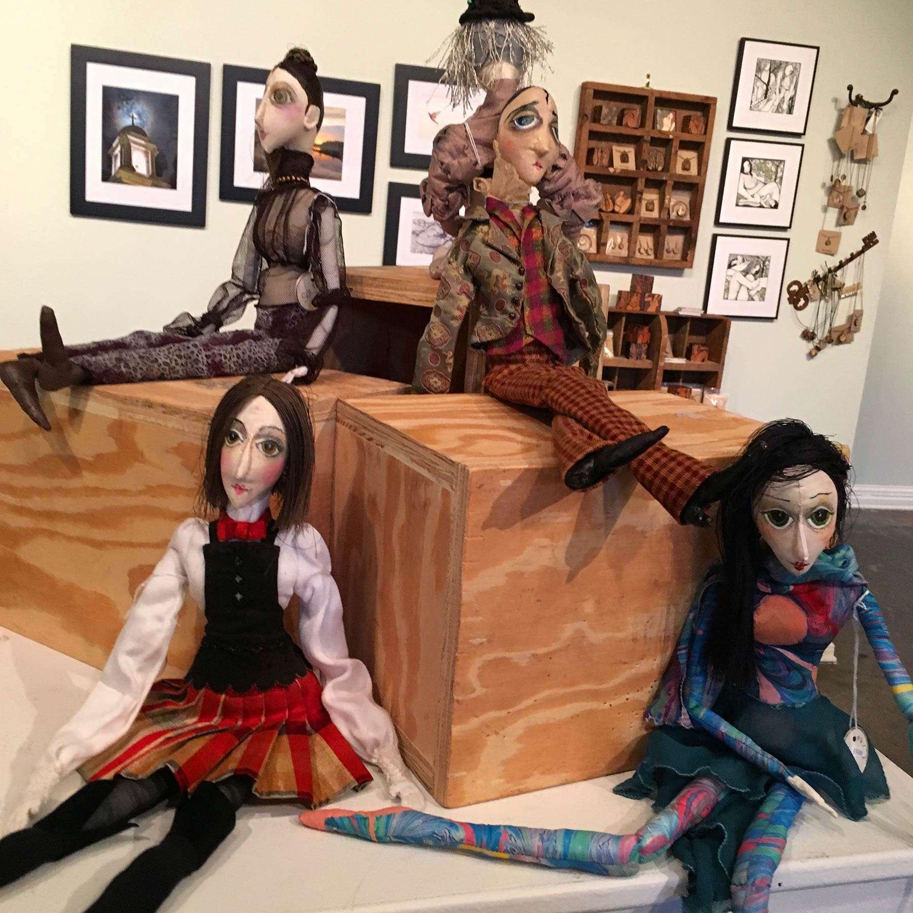 Affordable Art Show - Cricket Dolls