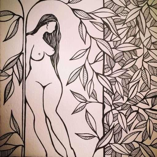Girl + Vines