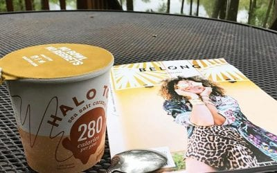 The day started with coffee and @thejealouscurator and is ending with @halotopcreamery and @belongmag
