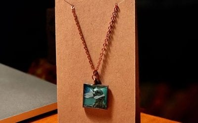 New display cards for my new necklaces!