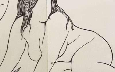 Drawing in my sketchbook is my favorite thing