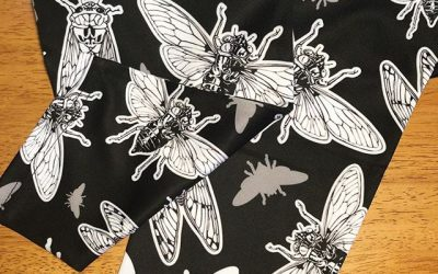 Look y'all! Cicada leggings!