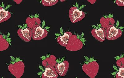 This strawberry pattern
