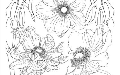 Still working on these flowers…