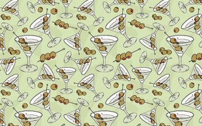 Three olive dirty martini, please!