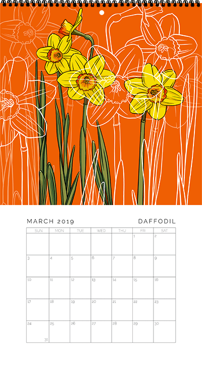 March - Daffodils