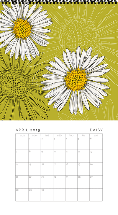 April - Daisy
