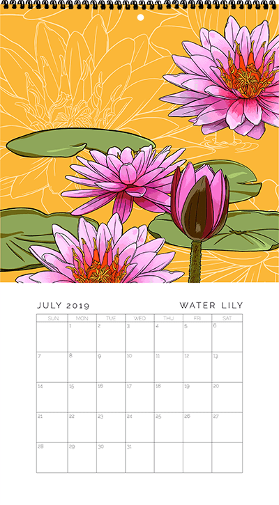 July - Water Lily