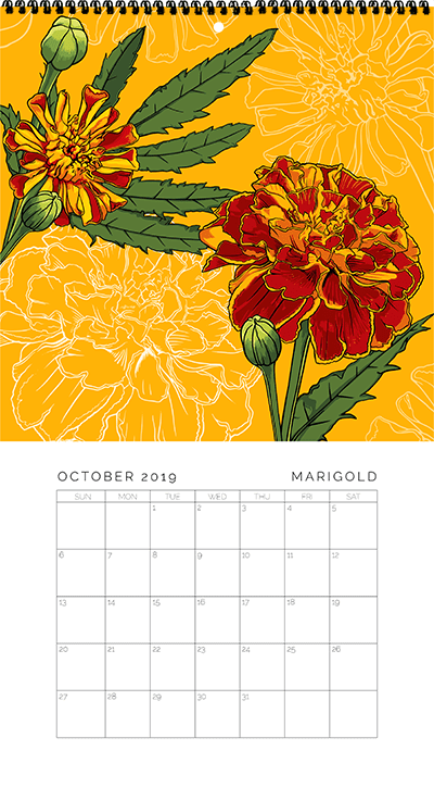 October - Marigold