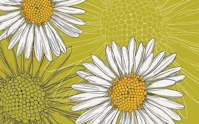 April's birth month flower is the daisy