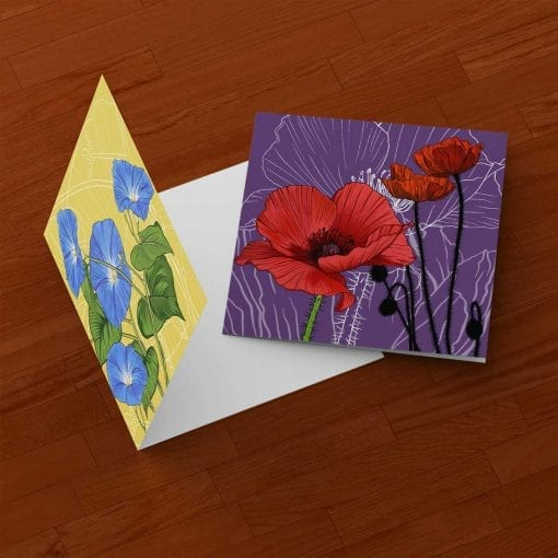 Birth Month Flower Cards