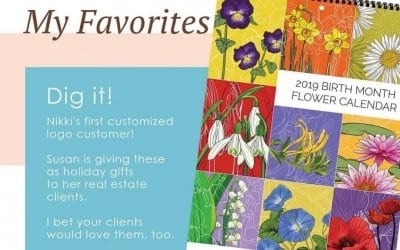 Calendars to be given as client gifts!