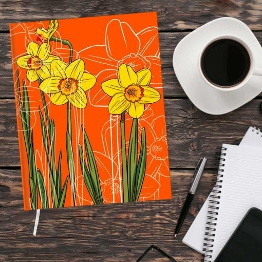 March Birth Month Flower Journal - Daffodil