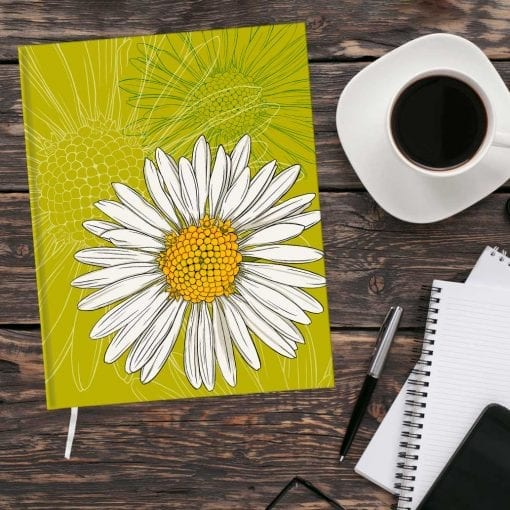 April Birth Month Flower Journal - Daisy