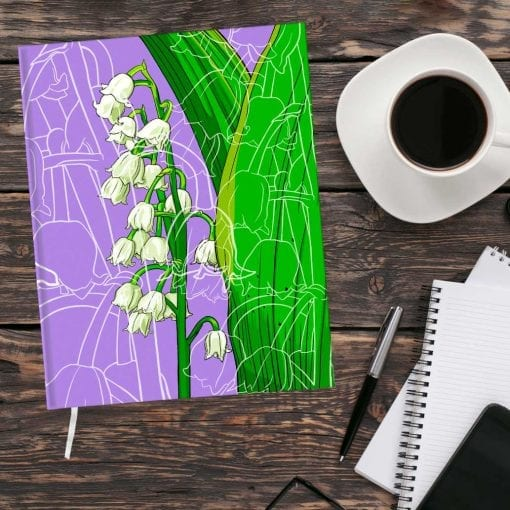 May Birth Month Flower Journal - Lily of the Valley