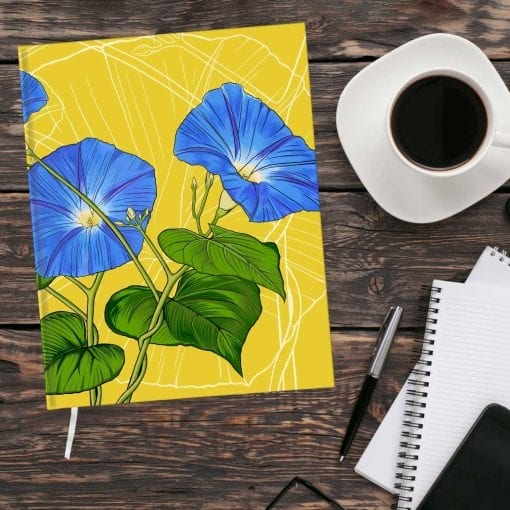 September Birth Month Flower Journal - Morning Glory