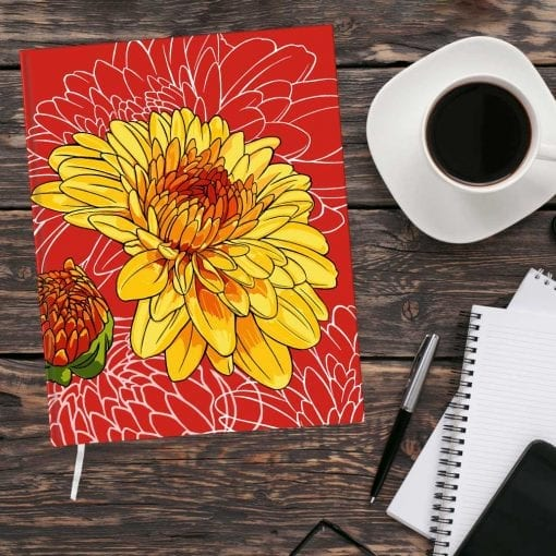 November Birth Month Flower Journal - Chrysanthemum