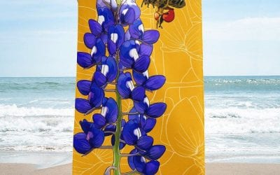 Texas Bluebonnet + Honeybee Products Now Available!