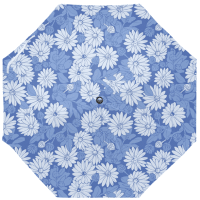 Blue Flowers Umbrella