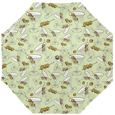 Three Olive Martini Umbrella