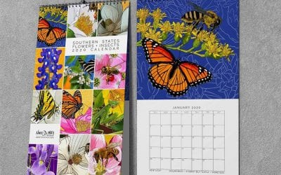 Southern States Flowers + Insects Calendars!