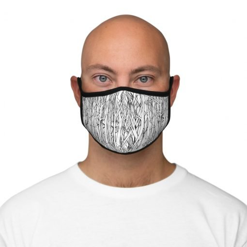 Ice Storm Face Mask