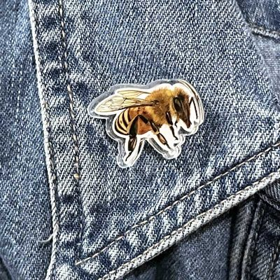Honeybee Acrylic Pin
